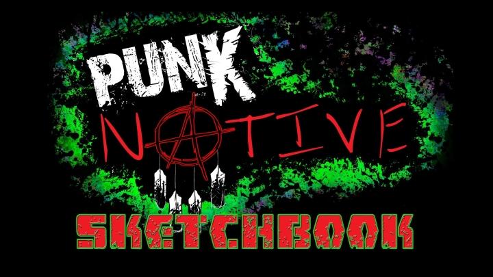 Punk Native Sketchbook!