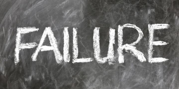 I Failed!